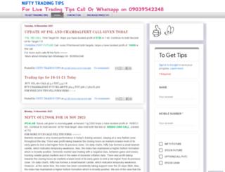 niftytipsniftylevels.blogspot.com screenshot