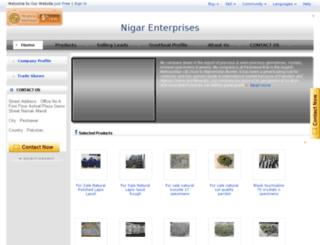 nigarbadshah.clabers.com screenshot