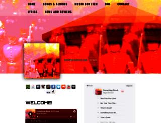 nigelbrownmusic.com screenshot