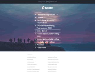 nigelmcguinness.com screenshot