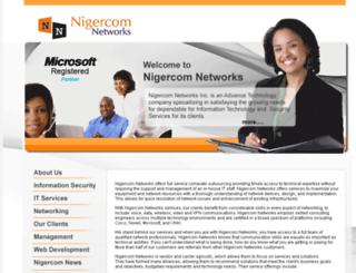 nigercom.com screenshot