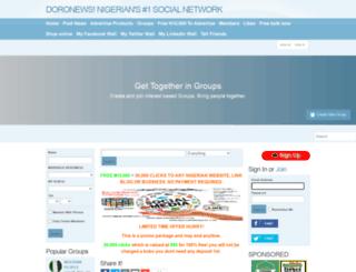 nigeria.co.network screenshot