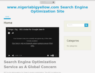 nigeriabigyellow.com screenshot
