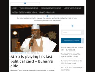 nigeriabreakingnews.com.ng screenshot
