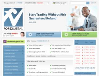 nigeriaforexbroker.com screenshot