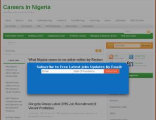 nigerialovejobs.com screenshot