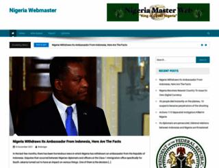 nigeriamasterweb.com screenshot