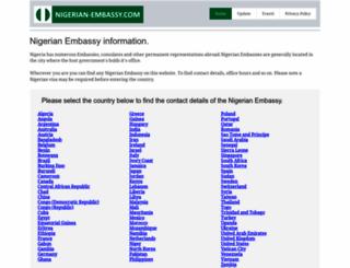 nigerian-embassy.com screenshot