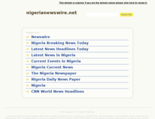 nigerianewswire.net screenshot