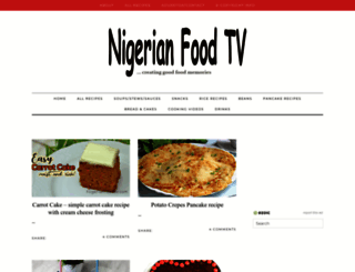 nigerianfoodtv.com screenshot