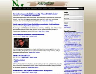 nigerianmuse.com screenshot