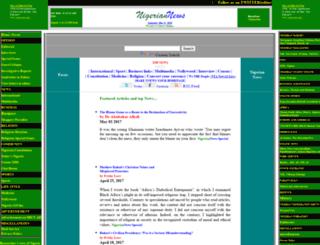 nigeriannews.com screenshot