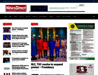 nigeriannewsdirect.com screenshot