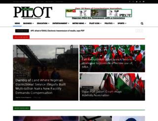 nigerianpilot.com screenshot