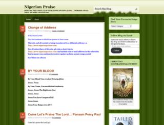 nigerianpraise.wordpress.com screenshot