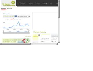 nigerianstockexchange.com screenshot