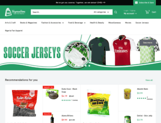 nigerianstore.net screenshot