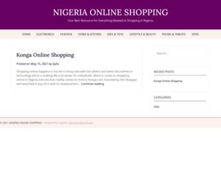 nigeriaonlineshopping.com screenshot