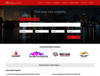 nigeriapropertycentre.com screenshot