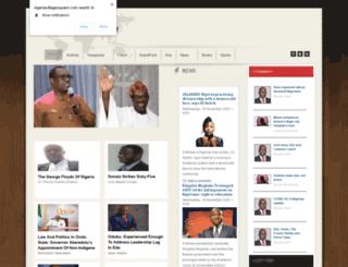 nigeriavillagesquare.com screenshot