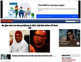 nigeriaworld.com screenshot
