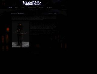 night-blade.com screenshot