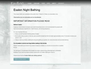 nightbaths.esalen.org screenshot