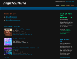 nightculture.com screenshot