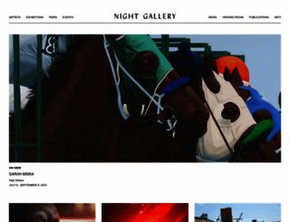 nightgallery.ca screenshot