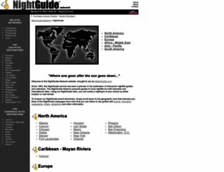 nightguide.com screenshot