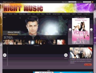 nightmusic19.ir screenshot