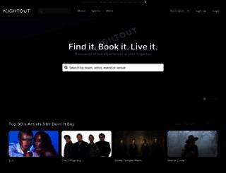 nightout.com screenshot