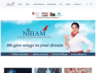 niham.in screenshot