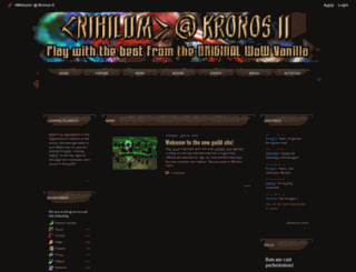 nihilumk2.shivtr.com screenshot