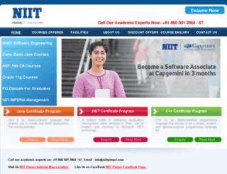 niitpimpri.com screenshot