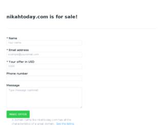 nikahtoday.com screenshot