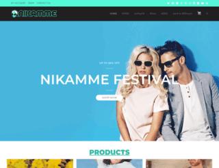 nikamme.com screenshot