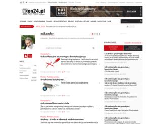 nikander.neon24.pl screenshot