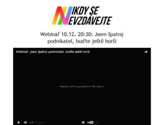 nikdysenevzdavejte.cz screenshot