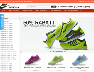 nike-free-se.com screenshot