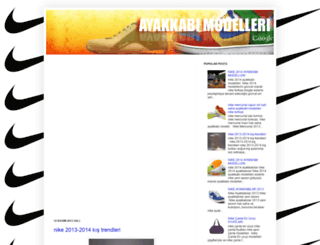 nike-turkiye-com.blogspot.com screenshot