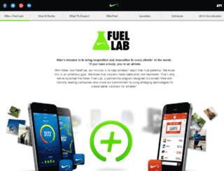nikeaccelerator.com screenshot