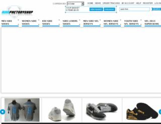 nikefactoryshop.net screenshot