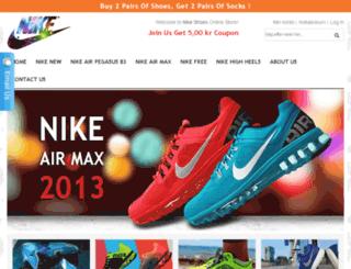 nikefreeshoestores.com screenshot