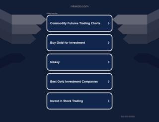 nikeido.com screenshot