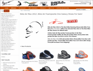 nikemaxfair.com screenshot