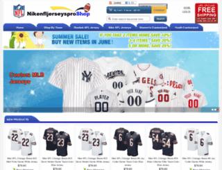 nikenfljerseysproshop.com screenshot