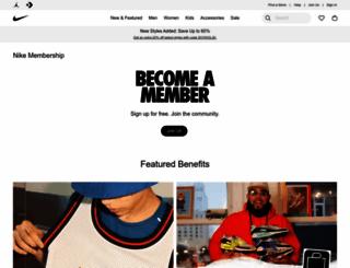 nikeplus.com screenshot