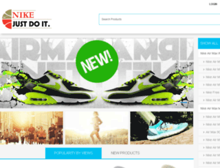 nikeshoxsko.com screenshot