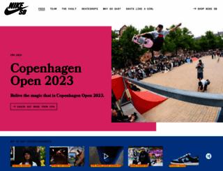 nikeskateboarding.com screenshot